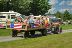 Hayride at Country Roads Campground