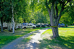 RV Sites at Country Roads Campground